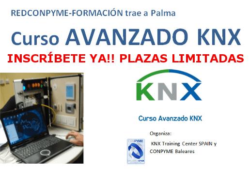 Nueva fecha Curso KNX AVANZADO Palma