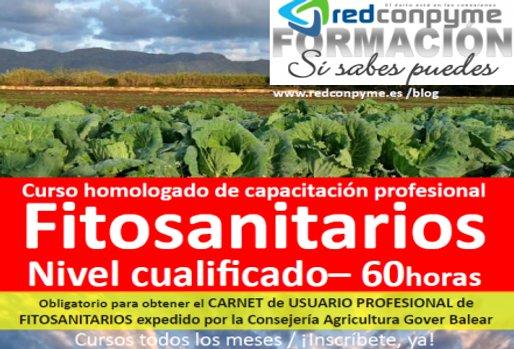 Curso Fitosanitario Cualificado Mallorca 2019 inscríbete para carnet profesional oficial emitido por Consellería Agricultura Govern balear