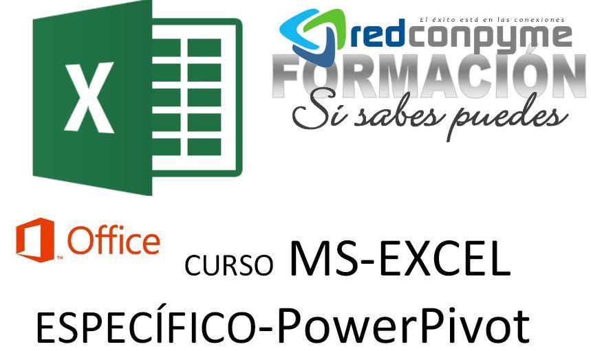 Curso PowerPivot y PowerQuery con Excel inscríbete convocatorias 2018 para empresas y profesionales especializados