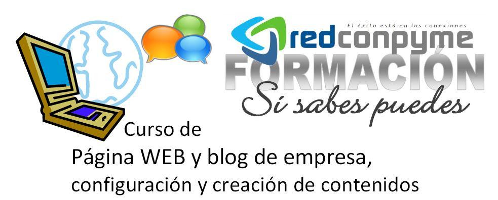 Curso de Página WEB y  blog  de empresa,  configuración y  creación de contenidos