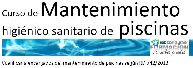 Curso Mantenimiento Piscinas Mallorca con carnet profesional Convocatorias 2019