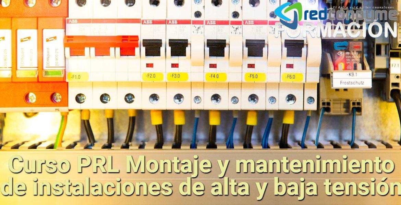 Curso instaladores alta y baja tension para tu ciudad y toda España